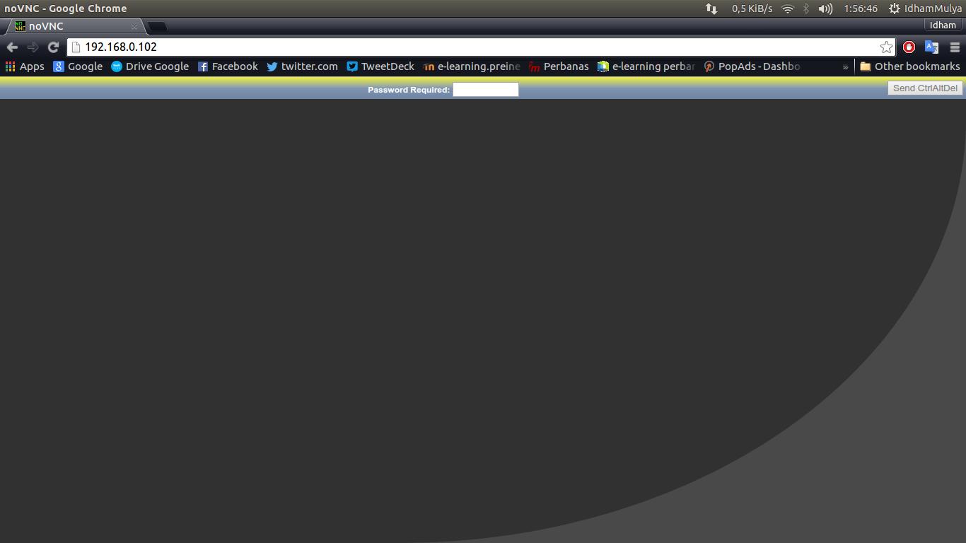 Remote RaspBerry Pi 2 Menggunakan noVNC Lewat Web Browser (DhamSky