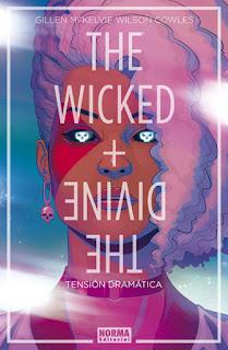 """Cómic: Reseña de """"The Wicked + The Divine #4: Tensión Dramática"""" de Kieron Gillen y Jamie McKelvie - Norma Editorial"""