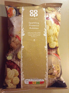 The Co Op Sparkling Prosecco Bubbles Crisps