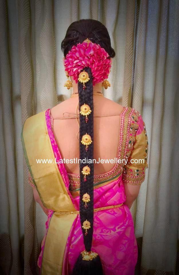 Gold Jada Billa Designs Latest Indian Jewellery Designs