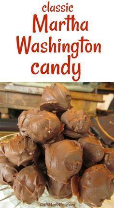 Martha Washington Candy