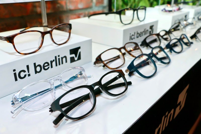 ic! berlin MIDO 2014 U-Bahn Collection, ic Berlin, Sunglasses, ic berlin spring summer 2014, berlin metro, glasses frames