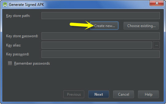 Cara Generate (Export)  File Apk  Project Android Di Android Studio
