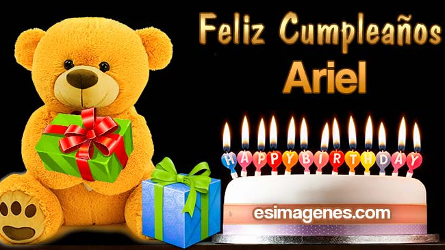 Feliz Cumpleaños Ariel