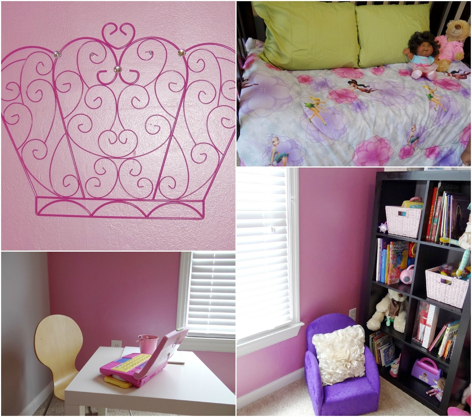 P's Bedroom Makeover Party #DisneyPaintMom {Before + After