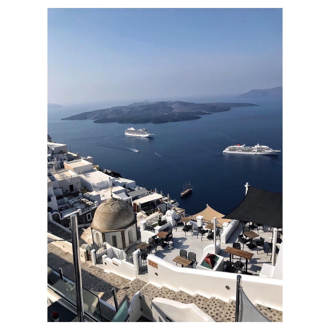Santorini - dziennik z podróży
