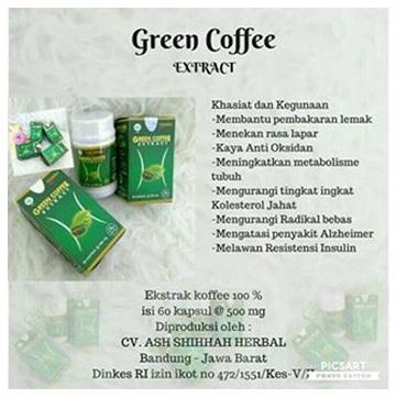 harga coffe | green coffee | di Jakarta | Surabaya dan medan