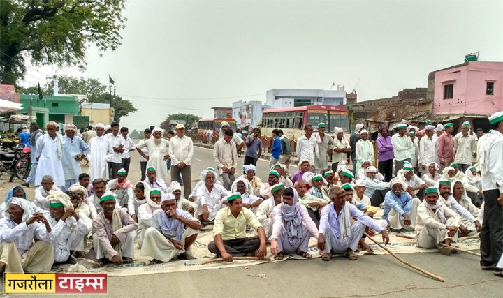 farmer_protest_rajabpur_dharna
