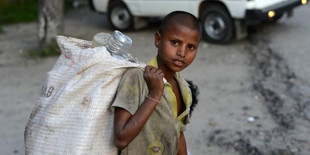 Niño esclavo en la India
