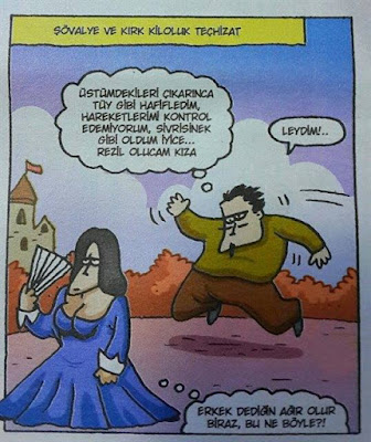 Özer Aydoğan - Şövalye ve kırk kiloluk teçhizat.