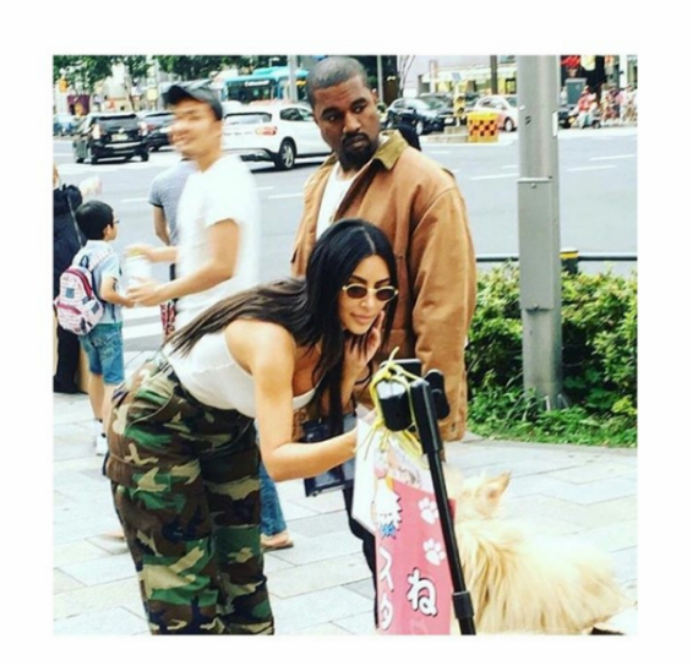 Welcome to KGBlog: Tokyo at last   Kim Kardashian and Kanye West