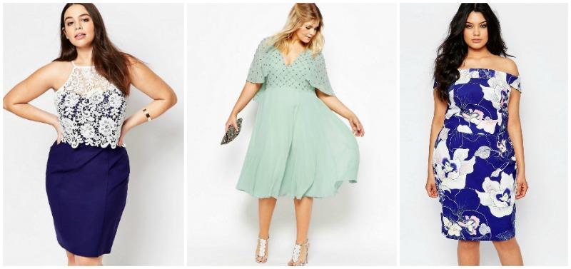 vestidos invitadas Plus Size