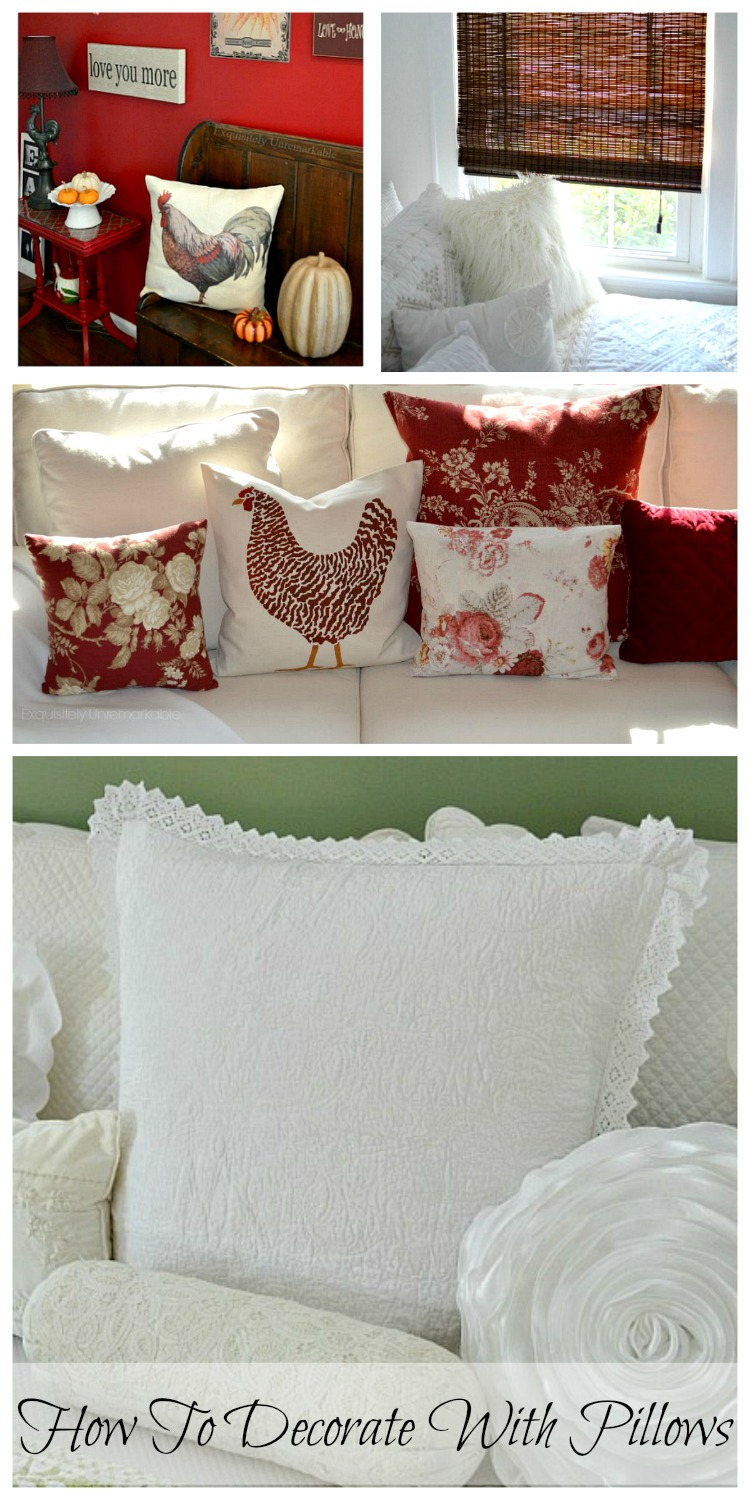 How To Decorate And Add Style With Pillows