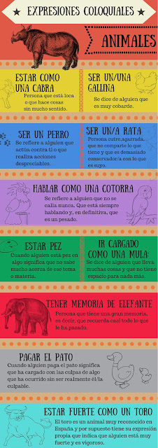 Expresiones coloquiales : Animales