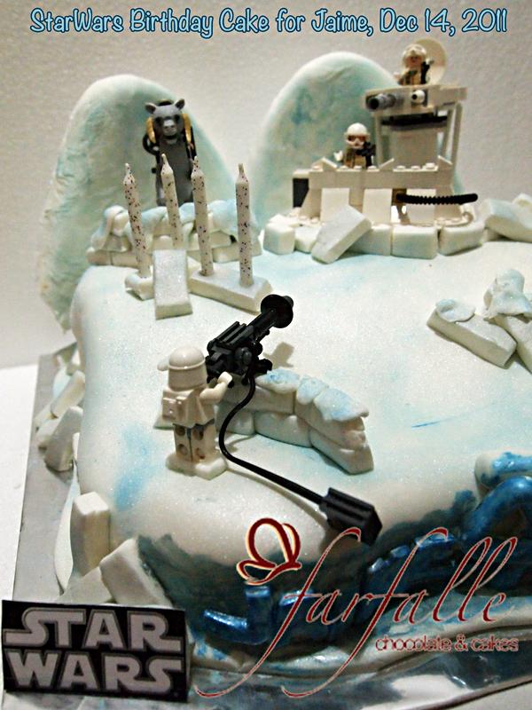 Farfalle Chocolate Amp Cakes Starwars Birthday Cake For Jaime