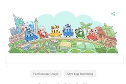 Google Doodle Hari Ini Bertema Selamat Mudik 2018