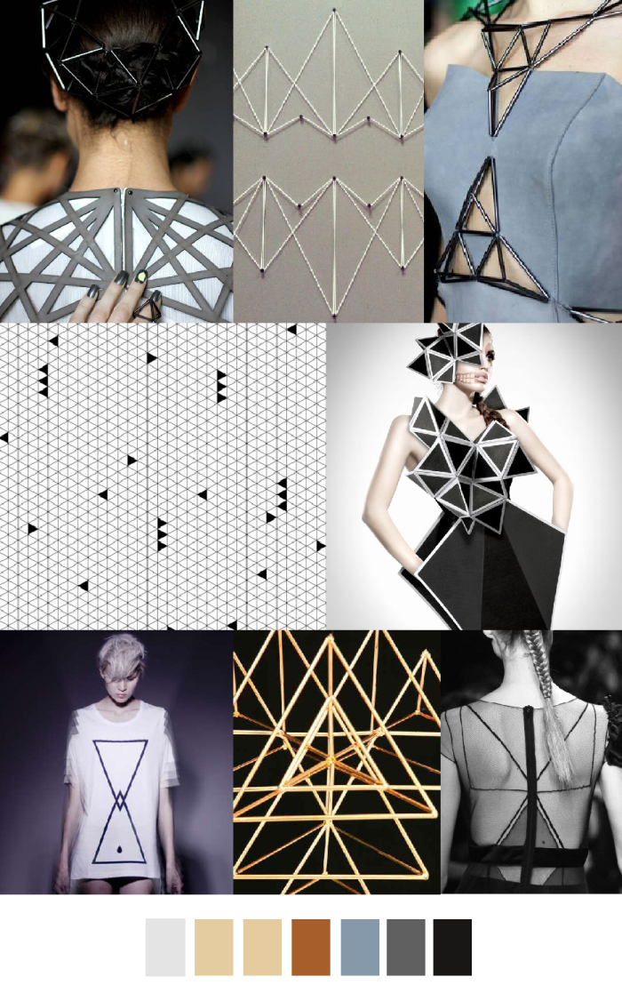 TRENDS // PATTERN CURATOR . PRINT, PATTERN + COLOR - GOLDEN TRIANGLE/TIMELESS TANGRAM