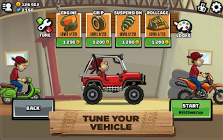 Game Hill Climb Racing 2 V1.01 MOD Apk Terbaru