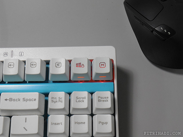 (Ulasan) Rapoo V500 Mechanical Gaming Keyboard