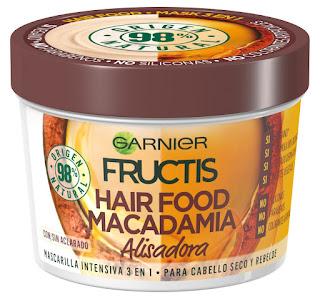 Mascarilla Fructis Hair Food Macadamia