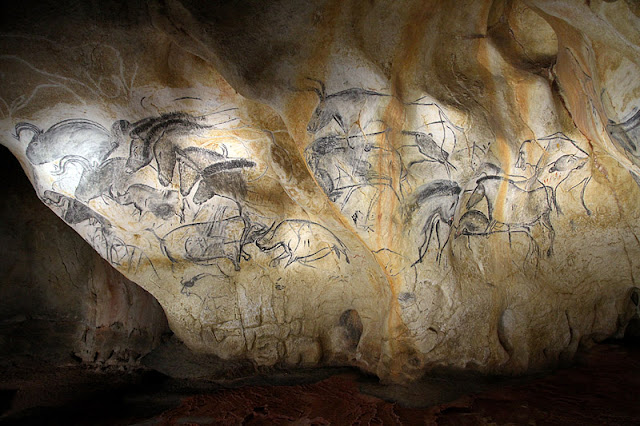 Cave Art Prehistoric Art Chevaux Cave Art Drawings
