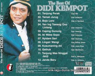 Didi Kempot Lingsir Wengi