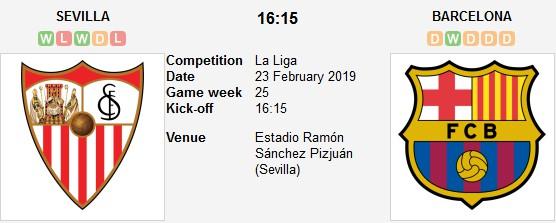 seville vs barcelona live