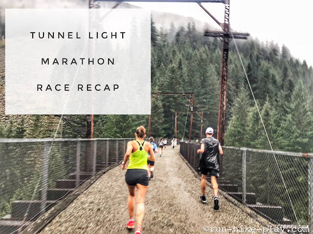 Tunnel Light Marathon Race Recap 9/16/18
