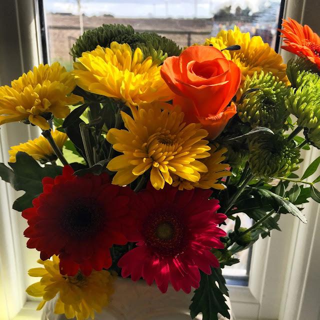 Fresh Flowers @ Ups and downs, smiles and frowns.