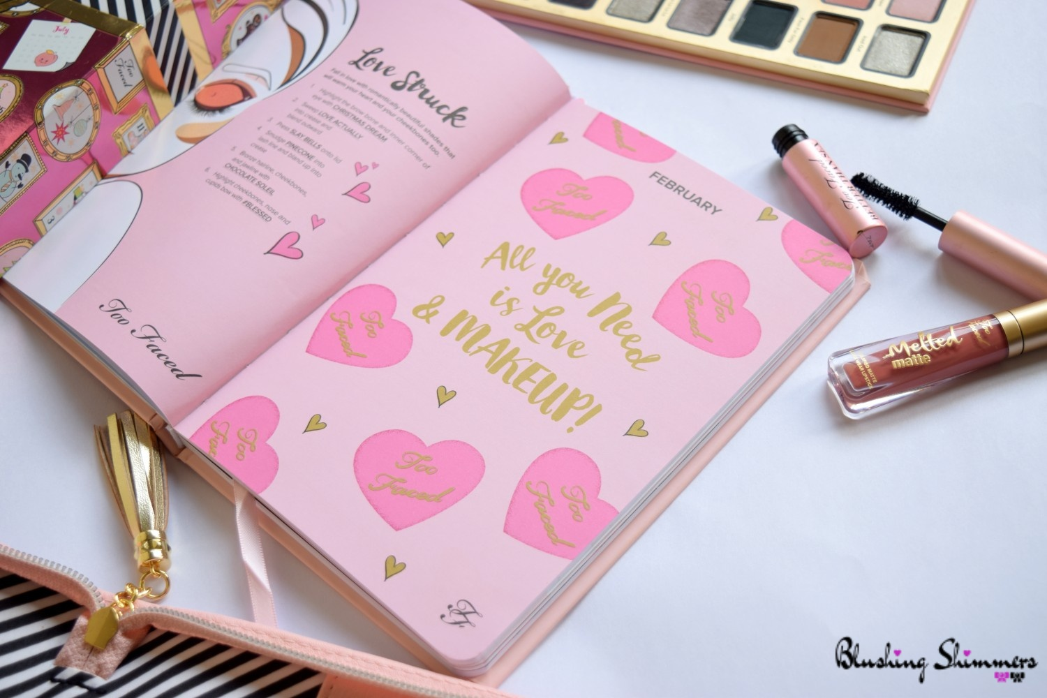 Sephora Too Faced gift set diary