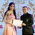 मधुरिमा तुली ,जिया मानेक ,नेहा कॉल , अनुरिता झा ,चाँदनी भगवानानी , प्रियंवदा ,पृथ्वी हट्टे मिसेस -मिस भारत आइकॉन पेजेंट में सहारा स्टार आये।