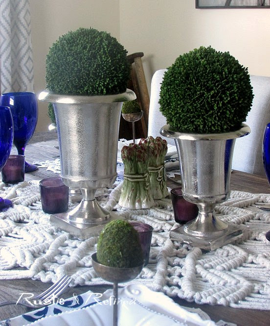 Bohemian Tablescape for Summer