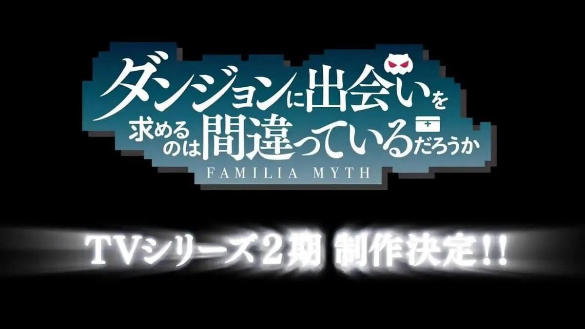 Staf Produksi Anime DanMachi Ungkap Tanggal Tayang