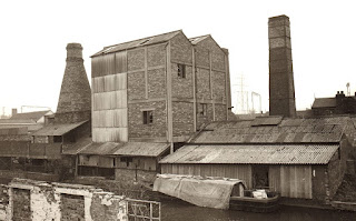 Calcining oven Lytton Street, Stoke former Dolby Mill 1975
