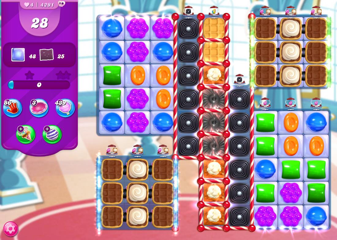 Candy Crush Saga level 4291