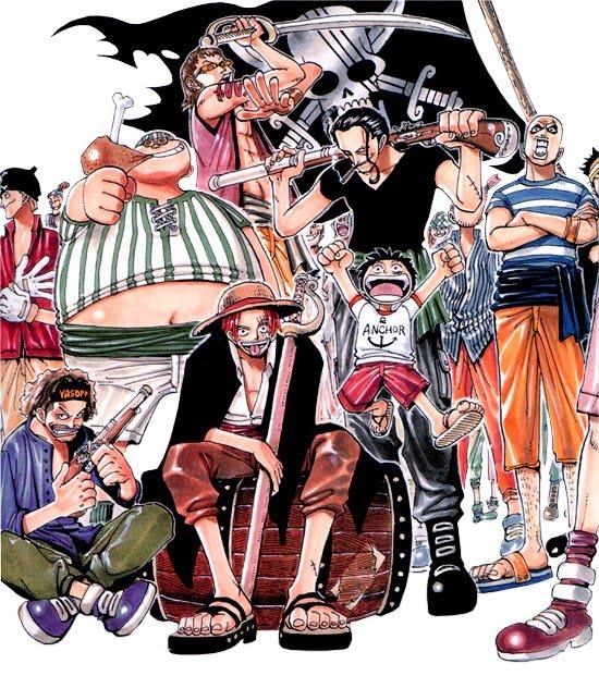 Red Hair Pirates One Piece Naruto Sasuke Wallpaper