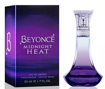 Beyoncé's Midnight Heat Perfume and box