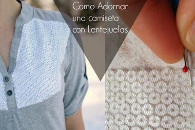 Como Adornar una Camiseta con Lentejuelas