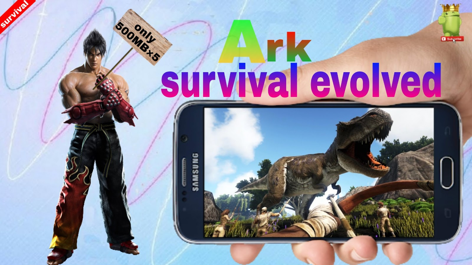 Androidgamer: Download ark survival evolved game in android for free