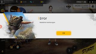 Cara Mengatasi Error Kesalahan Sambungan Pada Game Free Fire