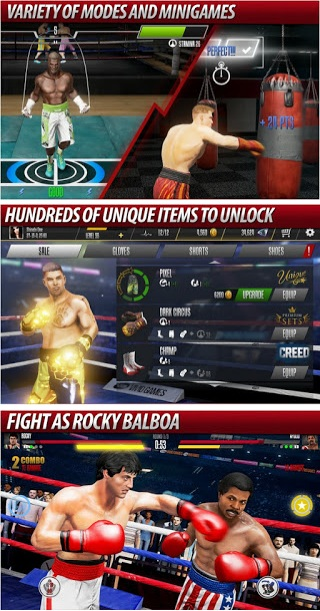 Real Boxing 2 Rocky v1.8.8 Mod Apk (Unlimited Gold/Silver) Update 2018