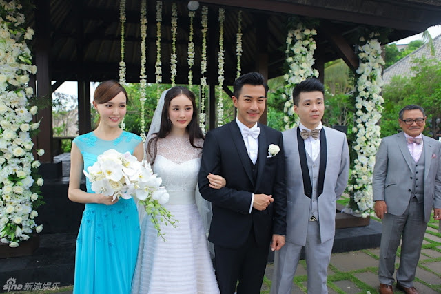 Entertainment News: Yang Mi and Hawick Lau 2014 wedding