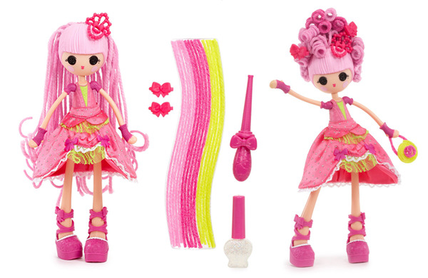 Lalaloopsy Girls Crazy Hair Doll- Jewel Sparkles