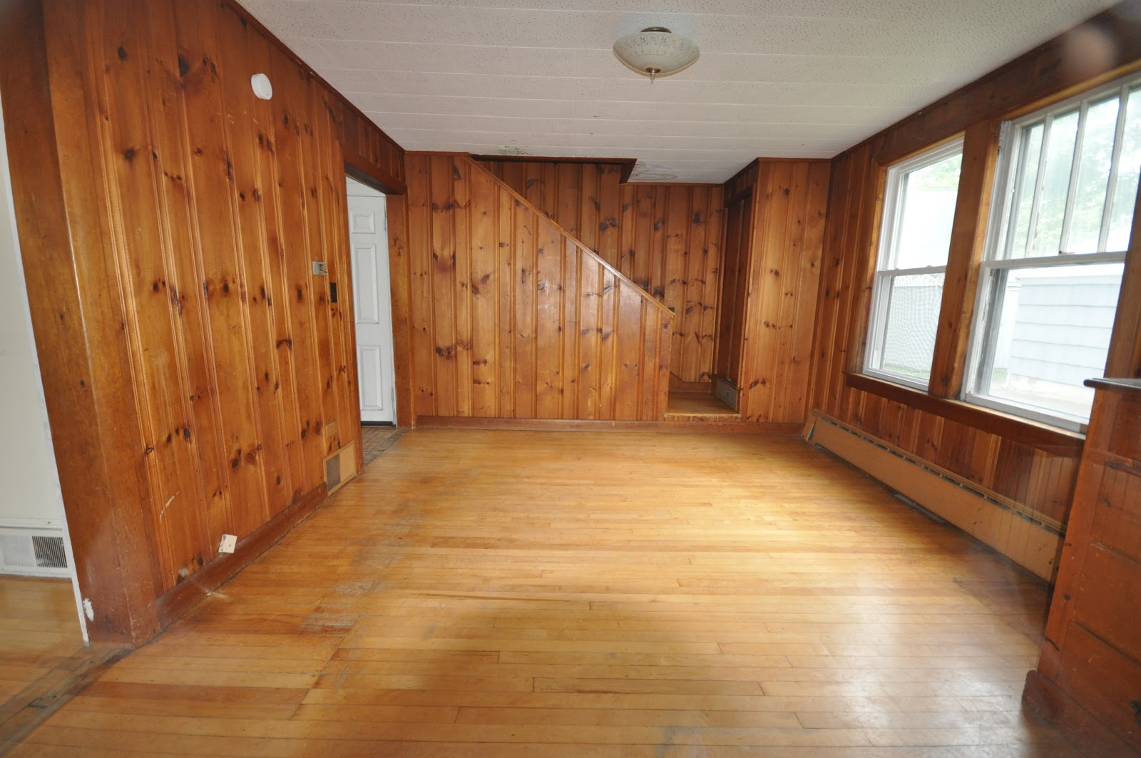 SoPo Cottage: Dining Room and Foyer: Before and After ...