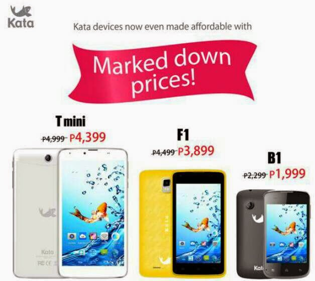 Kata B1, F1 and T Mini brought down prices