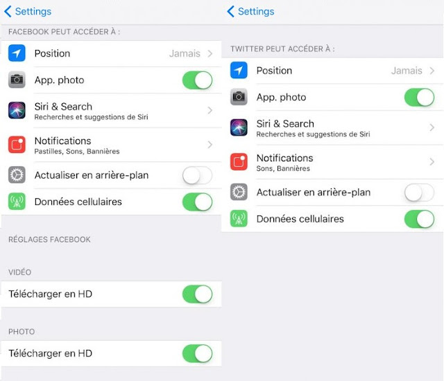 iOS 11: Apple abandons native integration of Facebook and Twitter