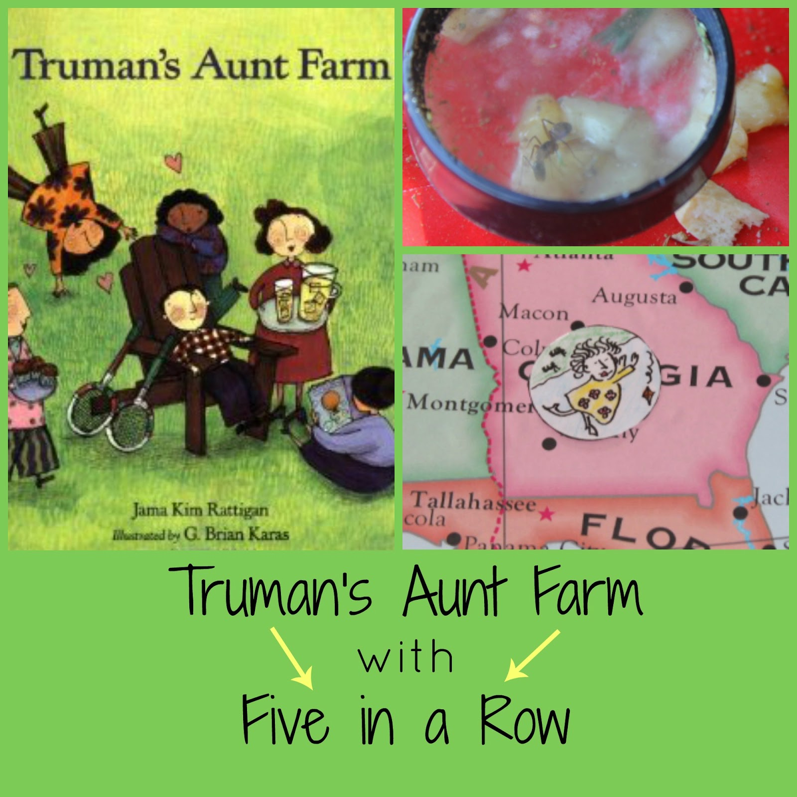Truman's Aunt Farm with Five in a Row