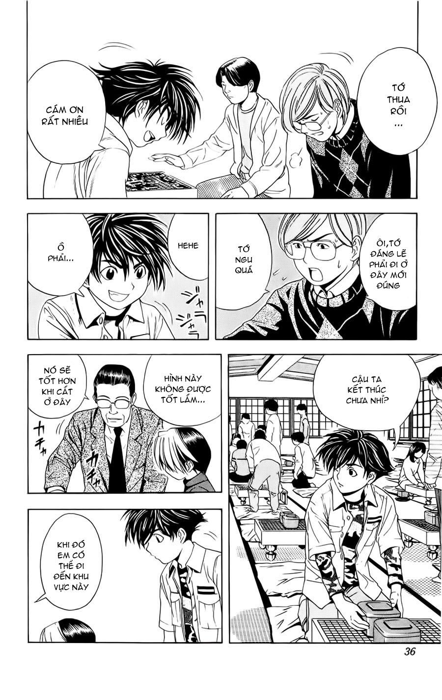 Hikaru No Go hikaru no go chap 45 trang 10