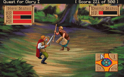Pantallazo videojuego Quest for Glory I
