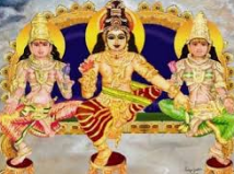 Dharma Shaasta is revealed using two consorts Pushkala and Poorna